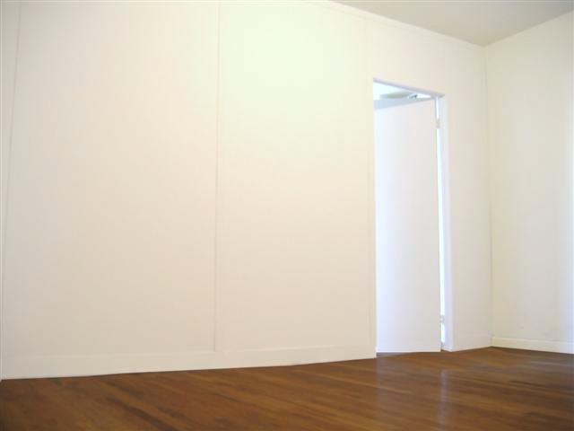 Standard wall with a door