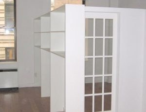 Bookcase French door
