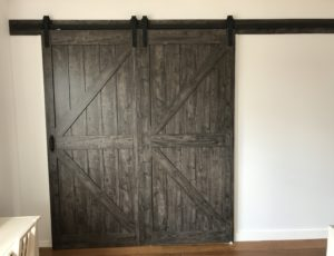 XL Rustic Barn door
