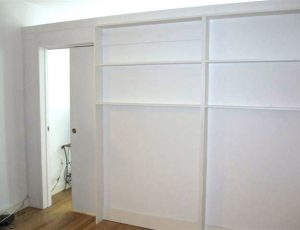 bookshelf wall nyc